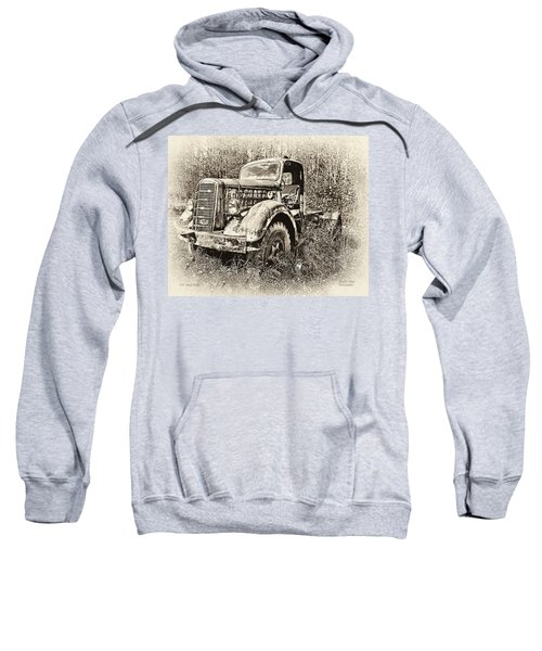 Antique 1947 Mack Truck Sweatshirt