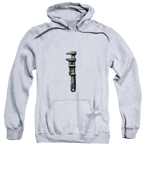 Antique Adjustable Wrench Bw Sweatshirt