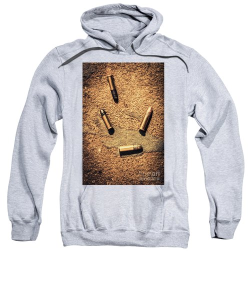 Antique Bullet Art Sweatshirt