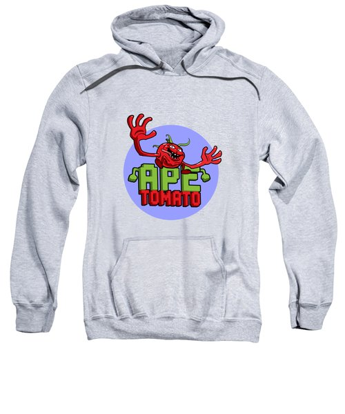 Ape Tomato Blue Purple Sweatshirt by Nicolas Palmer