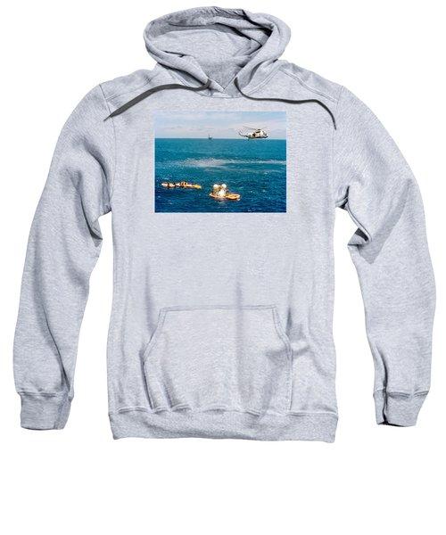 Apollo Command Module Splashdown Sweatshirt