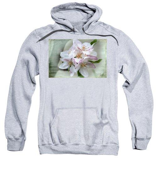 Apple Blossoms From My Hepburn Garden Sweatshirt