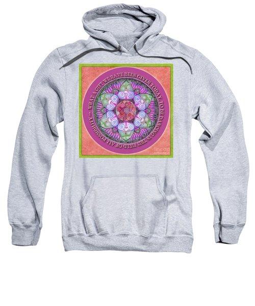 Appreciation Mandala Prayer Sweatshirt