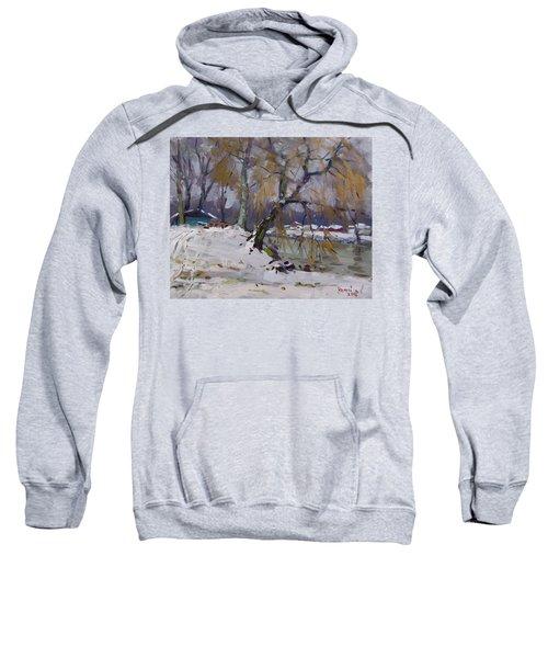 April Snow Storm Sweatshirt