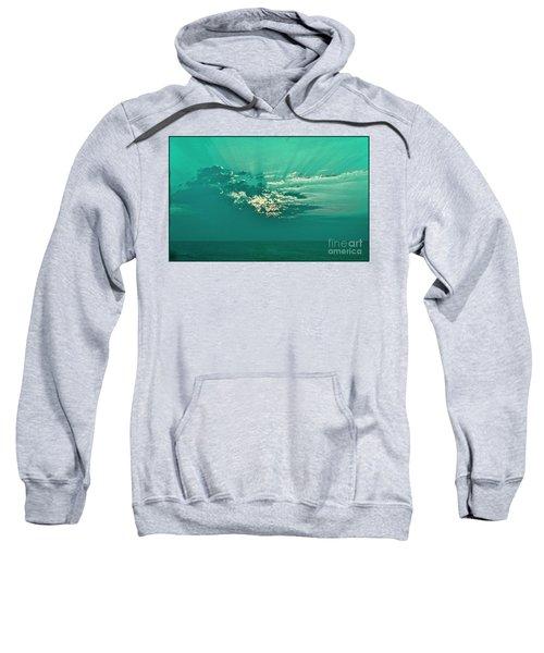 Aqua Sunset Sweatshirt