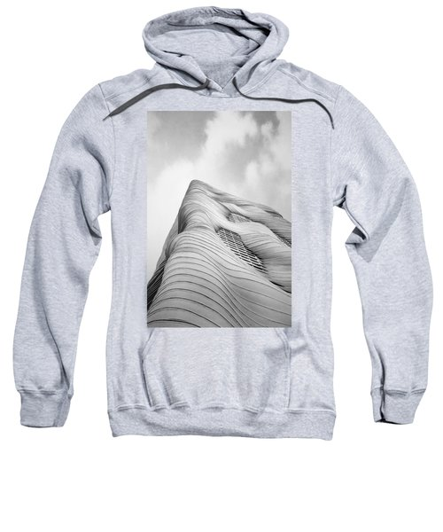Aqua Tower Sweatshirt