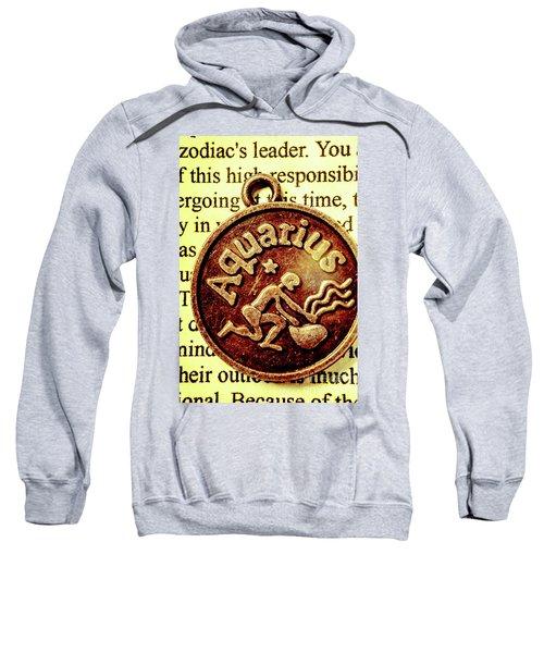 Aquarius Zodiac Sign Sweatshirt