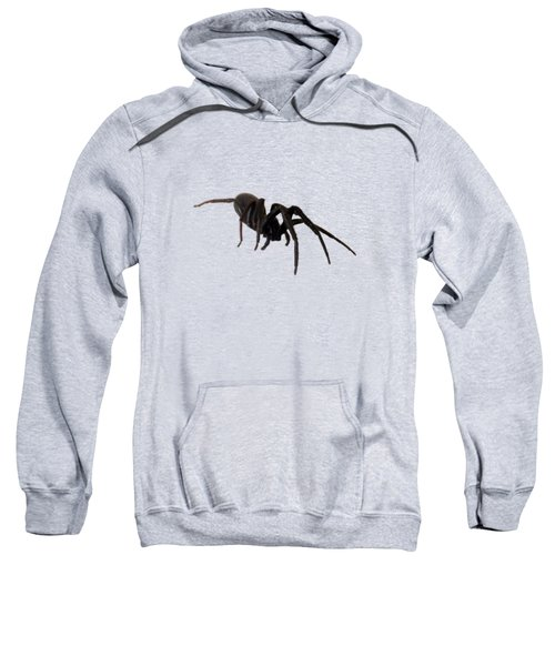 Sweatshirt featuring the photograph Arachne Noire by Marc Philippe Joly