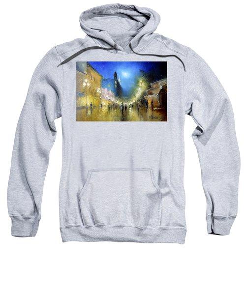 Arbat Night Lights Sweatshirt