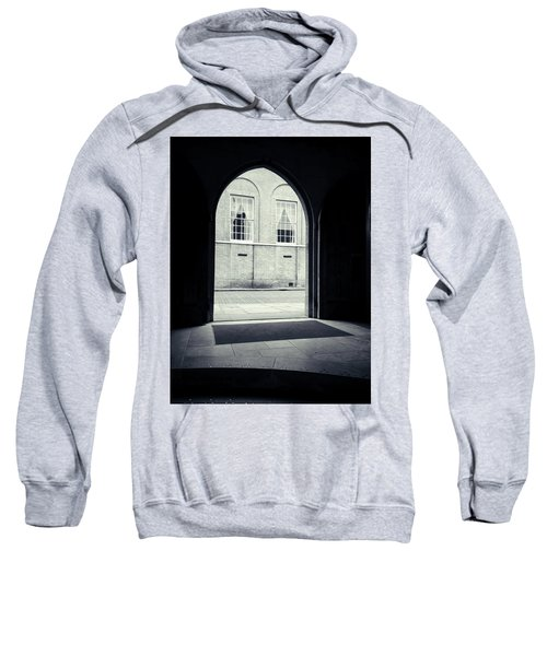 Archway In Black And White Sweatshirt