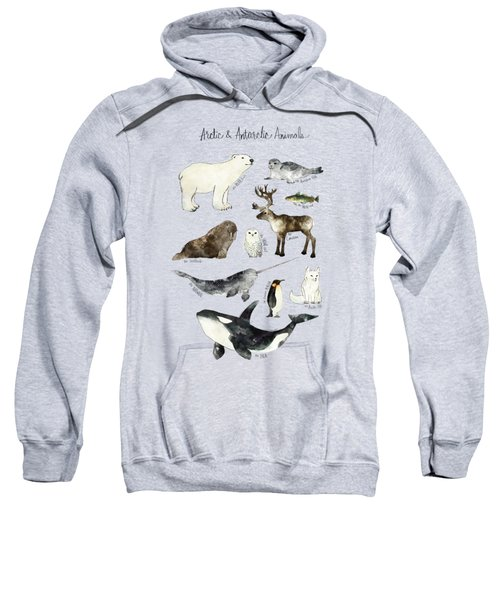 Arctic And Antarctic Animals Sweatshirt