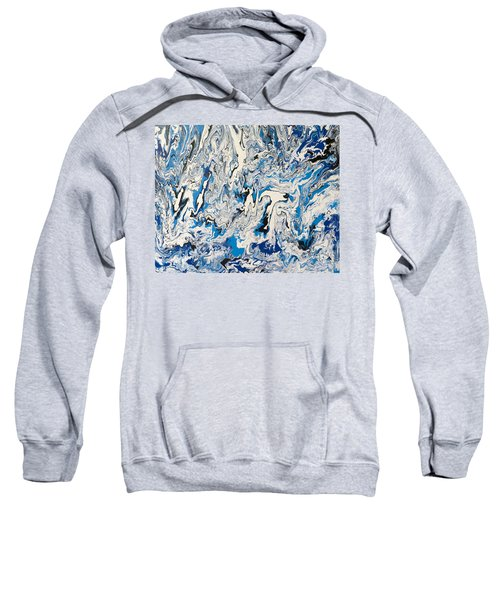Arctic Frenzy Sweatshirt by Teresa Wing