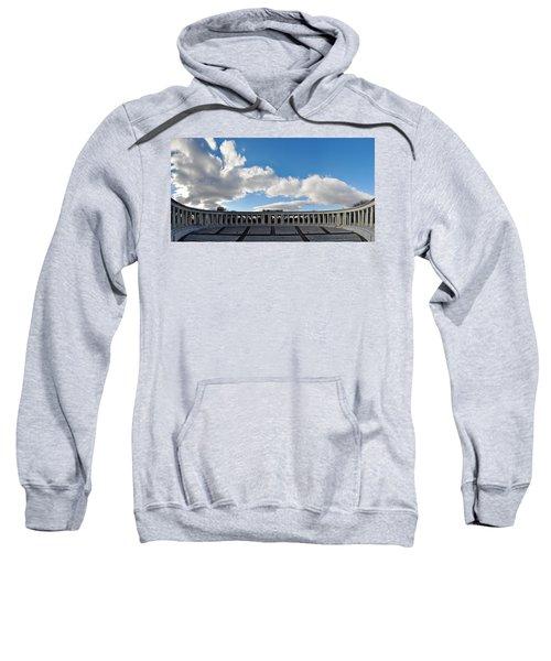 Arlington National Cemetery Memorial Amphitheater Panorama Sweatshirt