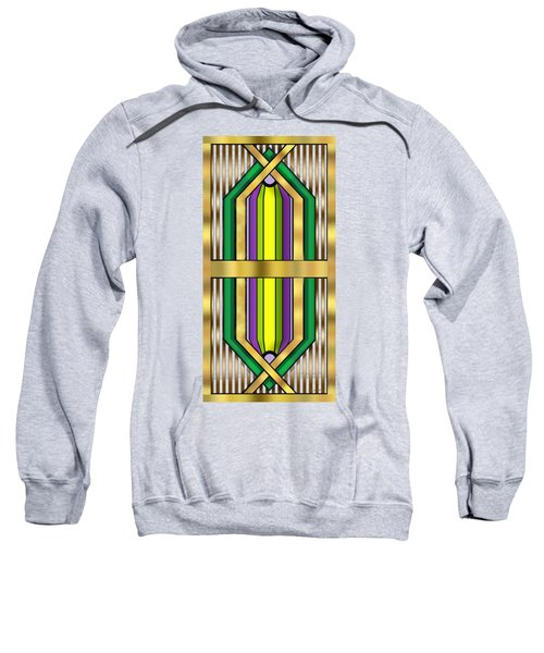 Art Deco 14 Vertical Sweatshirt