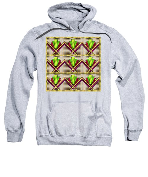 Art Deco Multiview 18  Sweatshirt