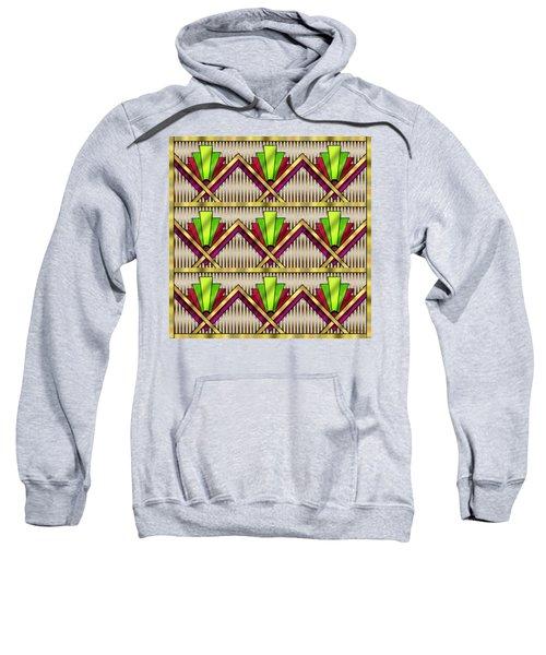 Art Deco Multiview 18  Sweatshirt