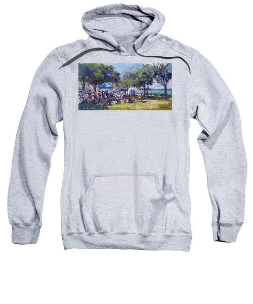 Art On The Riverwalk At Niawanda Park Sweatshirt