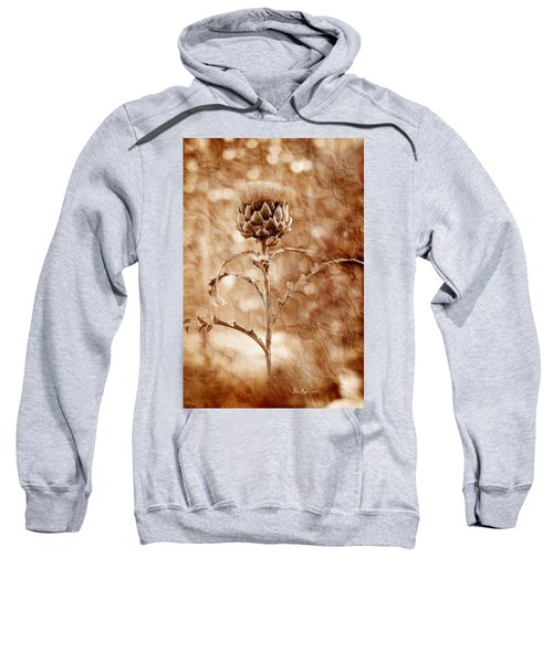 Artichoke Bloom Sweatshirt by La Rae  Roberts