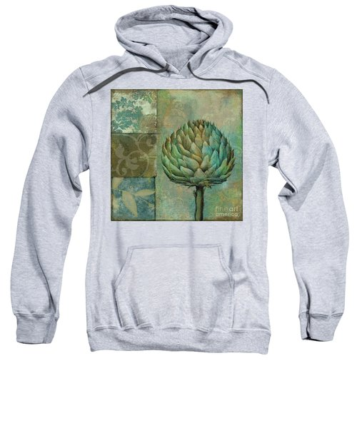 Artichoke Margaux Sweatshirt by Mindy Sommers