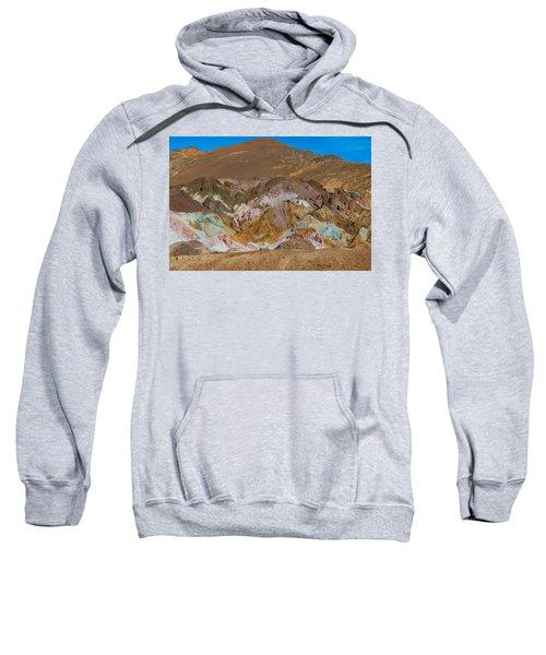 Artists Palette At Death Valley Sweatshirt