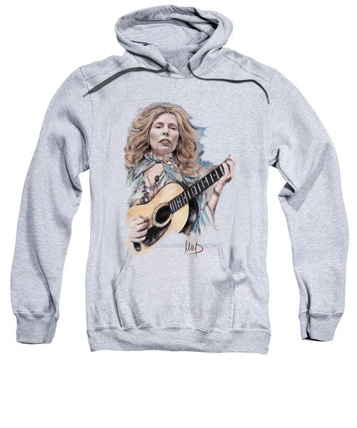 Joni Mitchell Sweatshirt by Melanie D