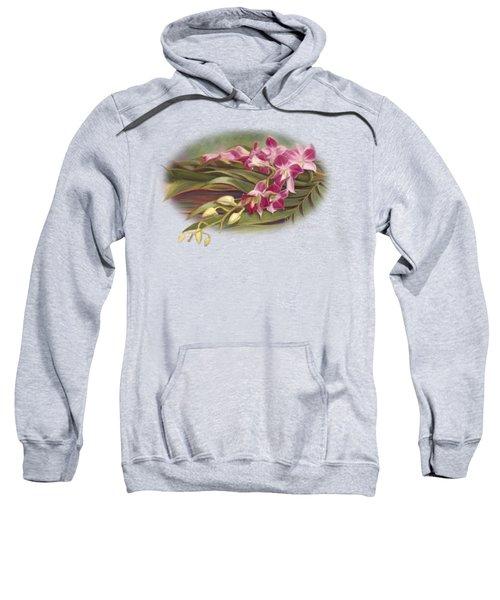 Dendrobium Orchids Sweatshirt