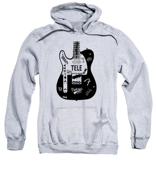 Fender Telecaster 52 Sweatshirt by Mark Rogan