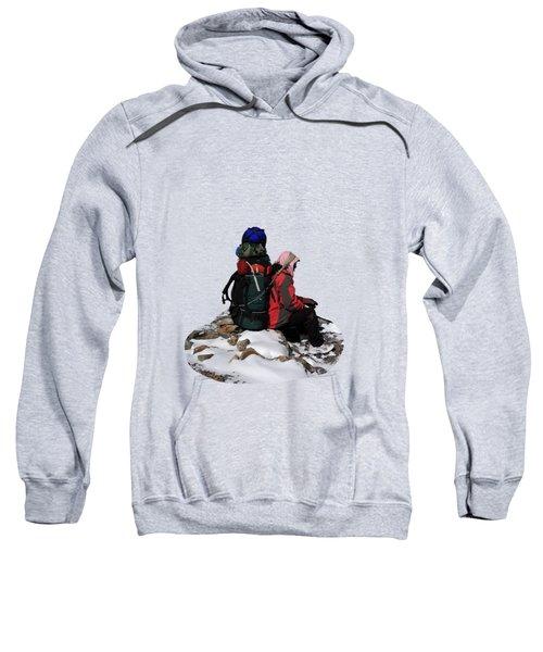 Himalayan Porter, Nepal Sweatshirt by Aidan Moran