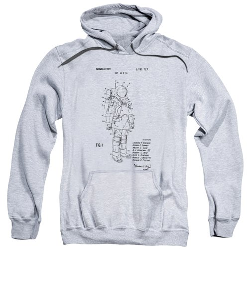 1973 Space Suit Patent Inventors Artwork - Vintage Sweatshirt