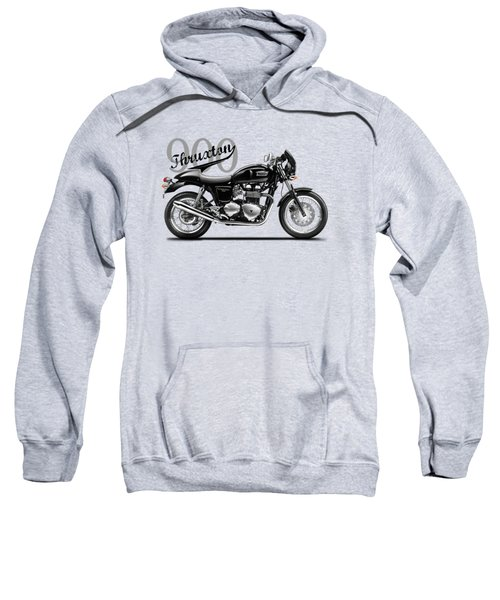 Triumph Thruxton Sweatshirt by Mark Rogan