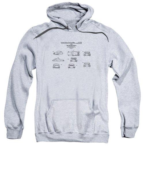 Porsche 911 Patent Sweatshirt