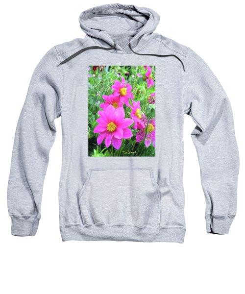 Cosmos Flowers Sweatshirt