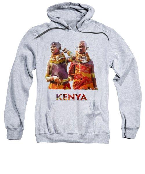 Young Turkana Girls Sweatshirt