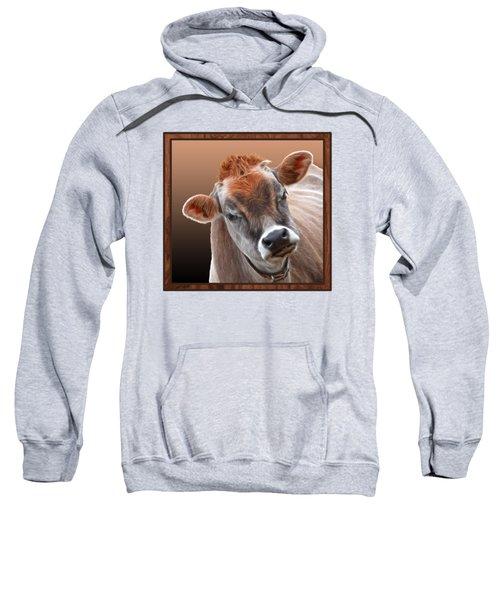 Hello Sweatshirt by Gill Billington