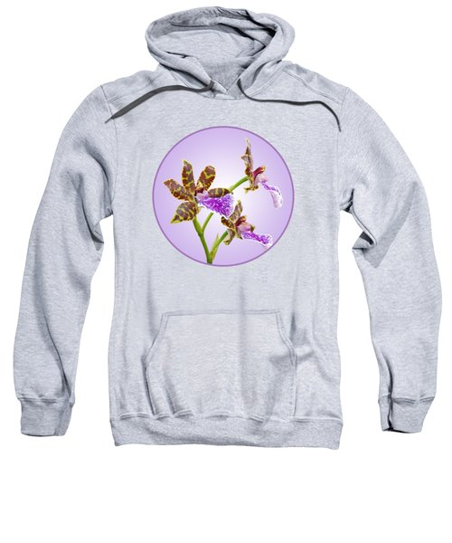 Bold And Beautiful - Zygopetalum Orchid Sweatshirt