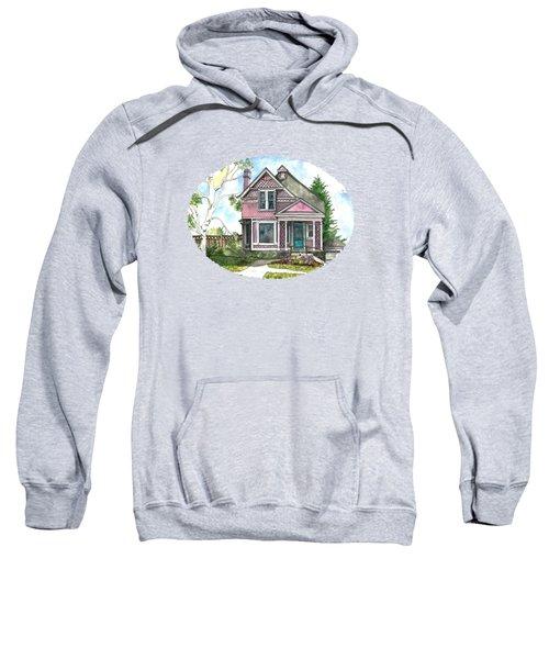 The Violet Lady In Spring Sweatshirt