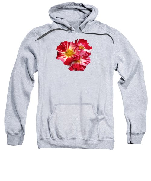 July 4th Rose Sweatshirt by M E Cieplinski