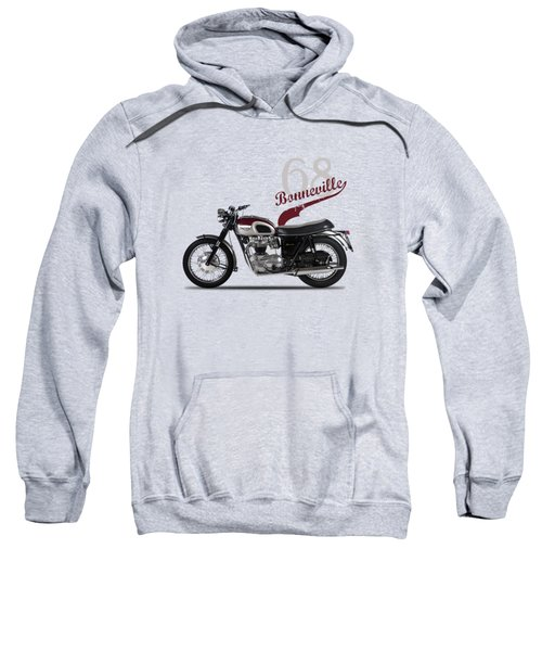 Triumph Bonneville T120 1968 Sweatshirt by Mark Rogan