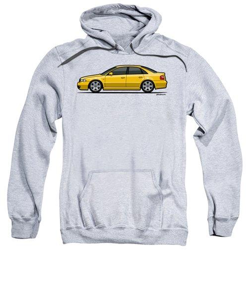 Audi A4 S4 Quattro B5 Type 8d Sedan Imola Yellow Sweatshirt