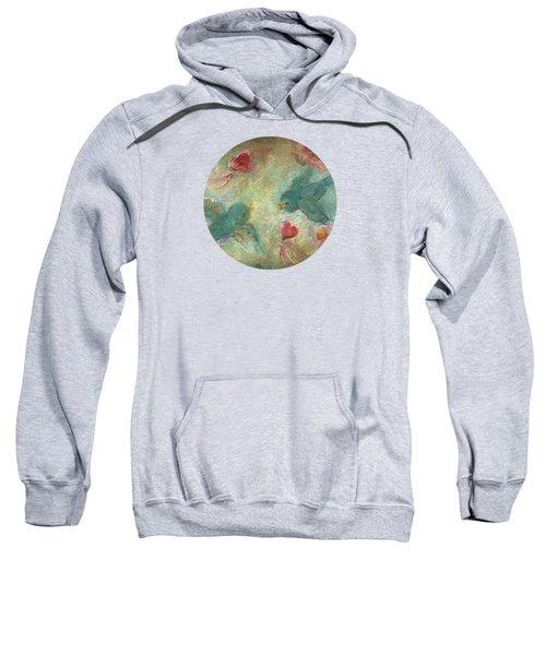 Lovebirds Sweatshirt by Mary Wolf