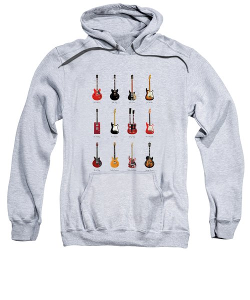 Guitar Icons No1 Sweatshirt