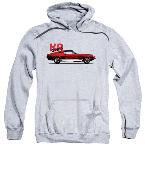 Shelby Mustang Gt500 Kr 1968 Sweatshirt by Mark Rogan