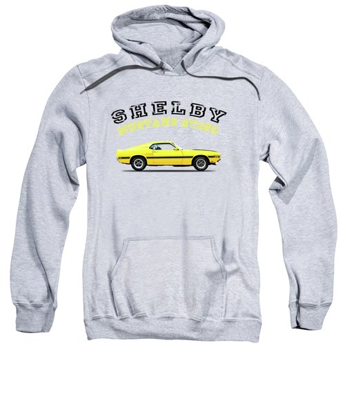 Shelby Mustang Gt350 1969 Sweatshirt by Mark Rogan