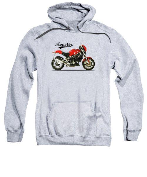 Ducati Monster S4 Sps Sweatshirt by Mark Rogan