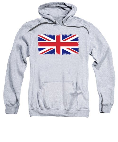 Union Jack Ensign Flag 1x2 Scale Sweatshirt by Bruce Stanfield
