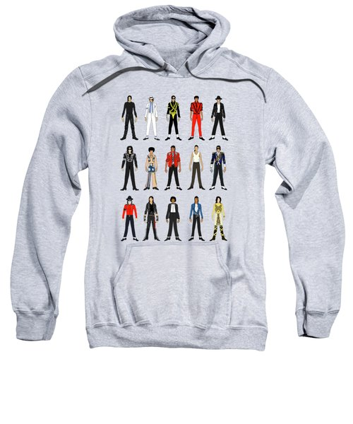 Outfits Of Michael Jackson Sweatshirt by Notsniw Art