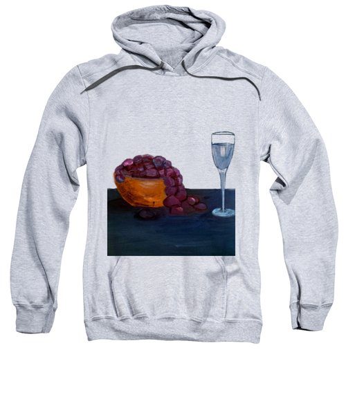 Grapes And Water Sweatshirt