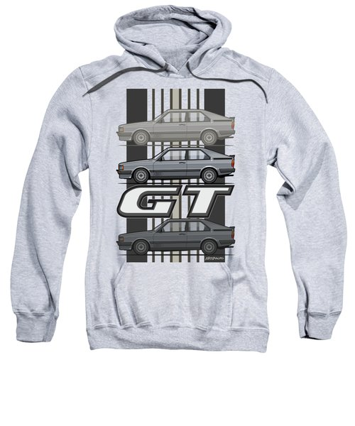 Four Rings Coupe Gt B2 Stone Grey Metallic Sweatshirt
