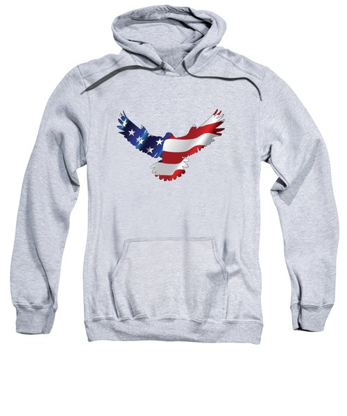 Stars And Striped Eagle Sweatshirt