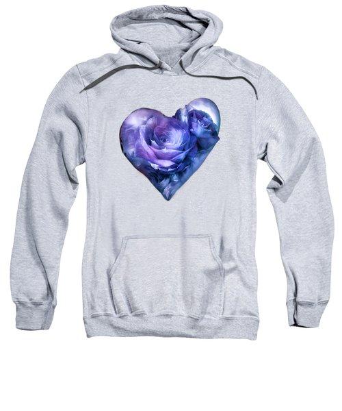 Heart Of A Rose - Lavender Blue Sweatshirt